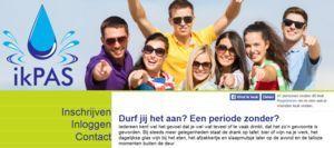 IkPas.nl: een maand geen alcohol