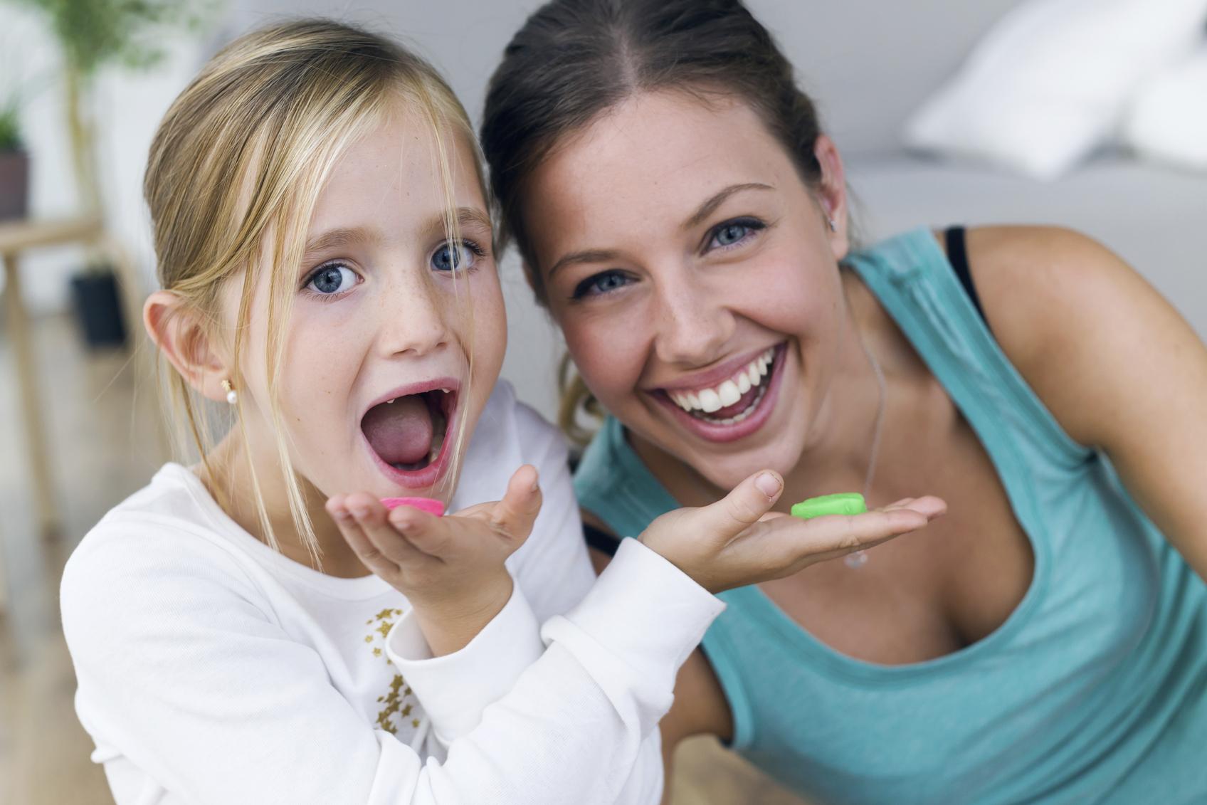 Steun van ouders laat kinderen minder snoepen