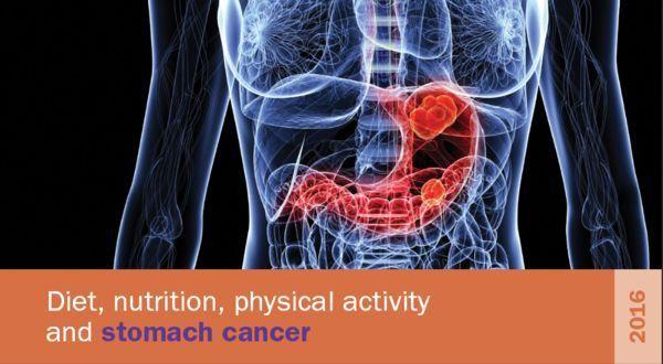 Elk jaar 17% van de nieuwe gevallen van maagkanker te voorkomen door geen alcohol en bewerkt vlees te consumeren en een gezond gewicht
