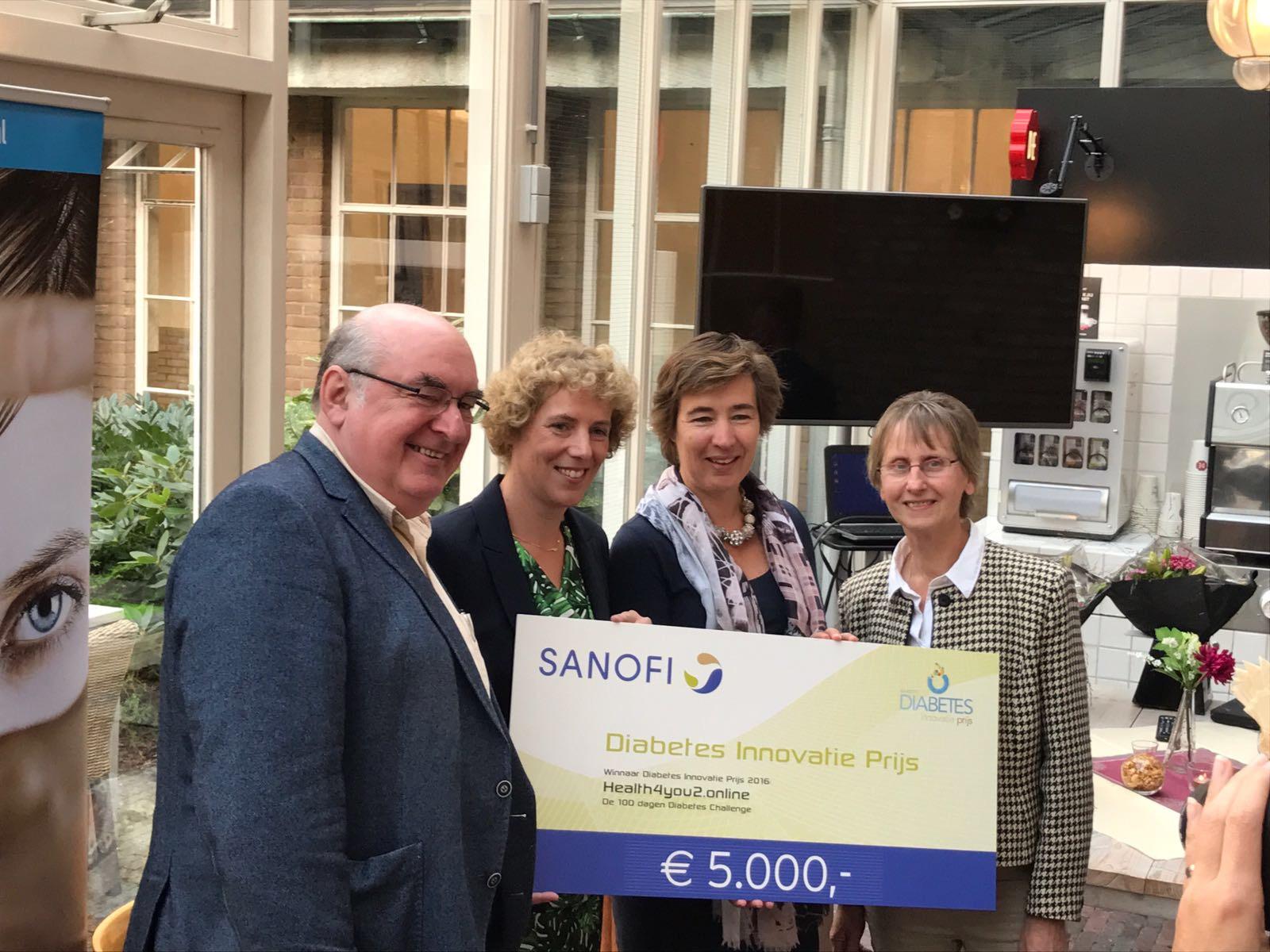 Winnaars Diabetes Innovatie Prijs