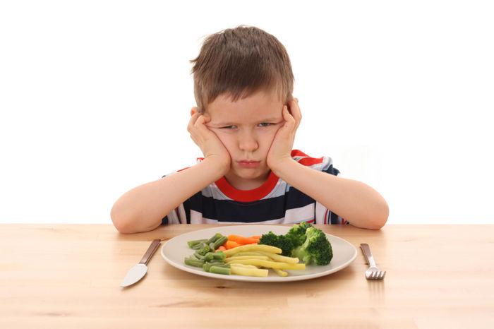 Kieskeurige eter vaker angstig