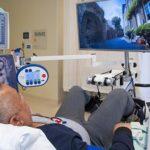 Fietslabyrint brengt ziekenhuispatiënt in beweging