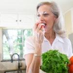 Minder rimpels door hoge inname van groenten en fruit