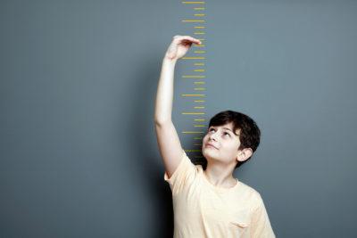 Bovenarm kind goede maat voor overgewicht
