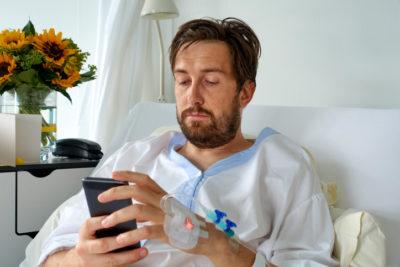 Voeding app in ziekenhuis